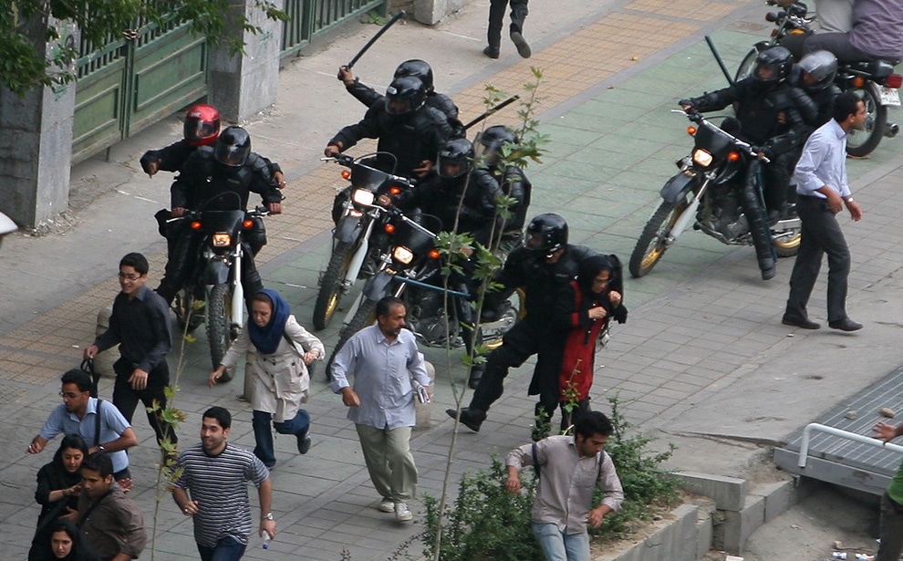 riot police